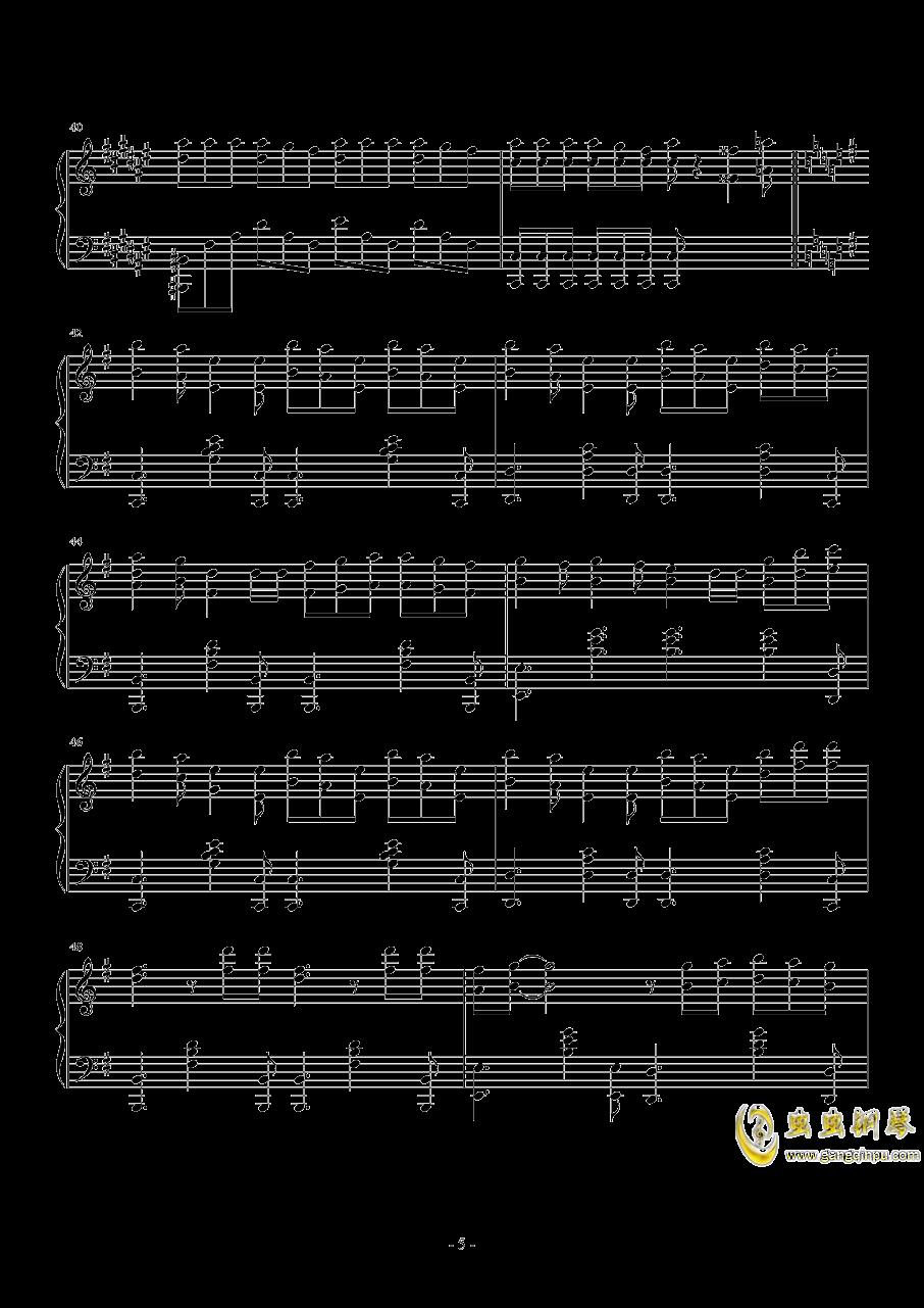 wonderfulyou钢琴谱