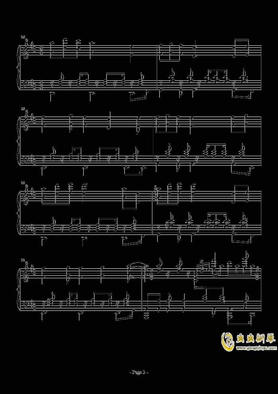 前进路上的欢乐时光钢琴谱 第3页