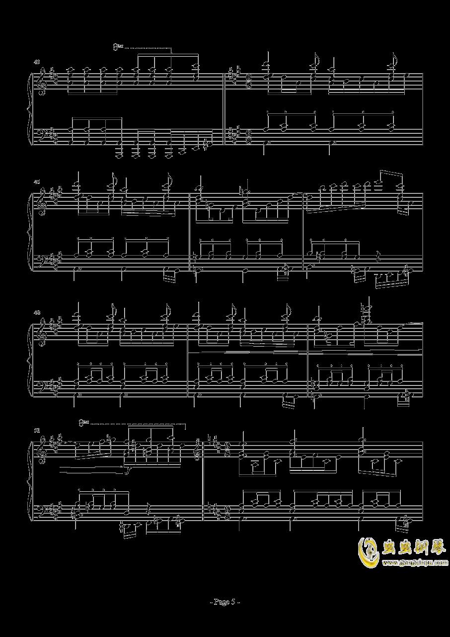 前进路上的欢乐时光钢琴谱 第5页