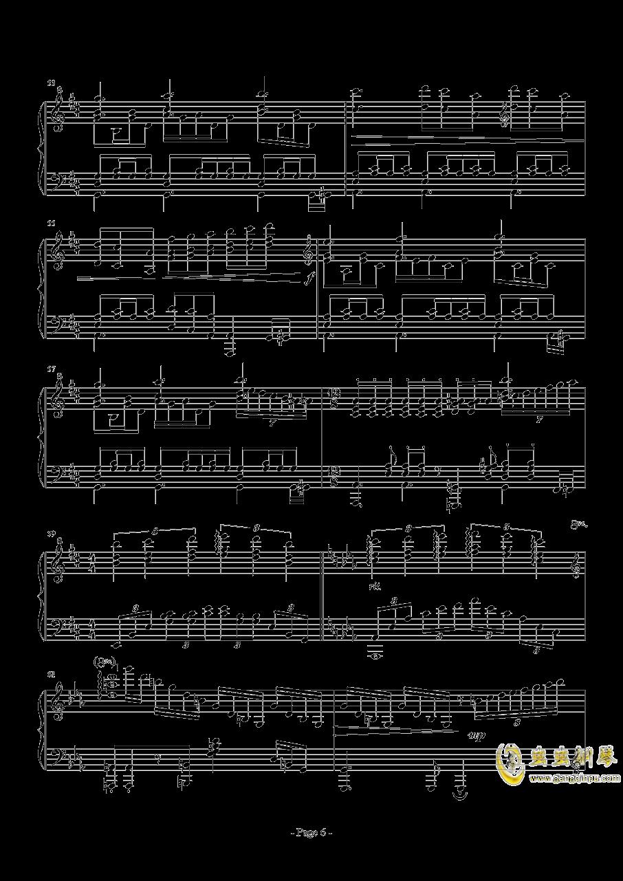 前进路上的欢乐时光钢琴谱 第6页