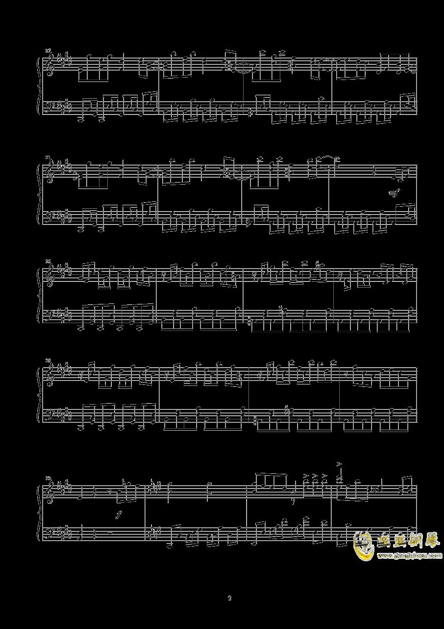 幽灵乐团钢琴谱 第2页