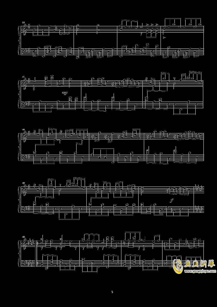 幽灵乐团钢琴谱 第3页