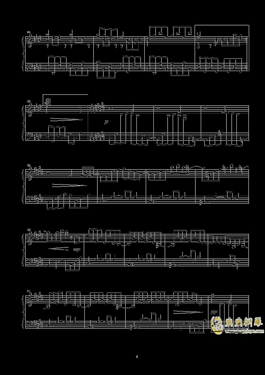 幽灵乐团钢琴谱 第4页