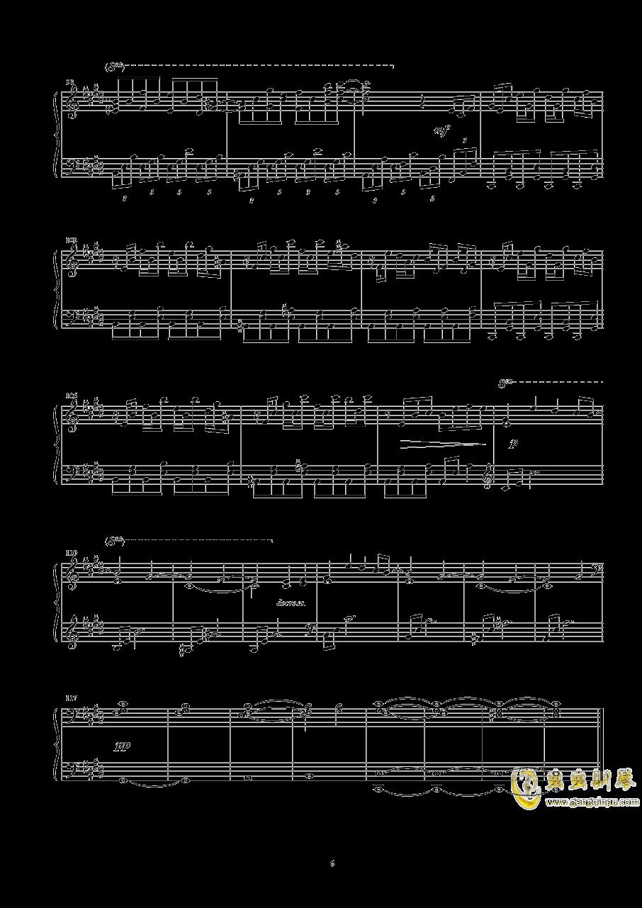 幽灵乐团钢琴谱 第6页