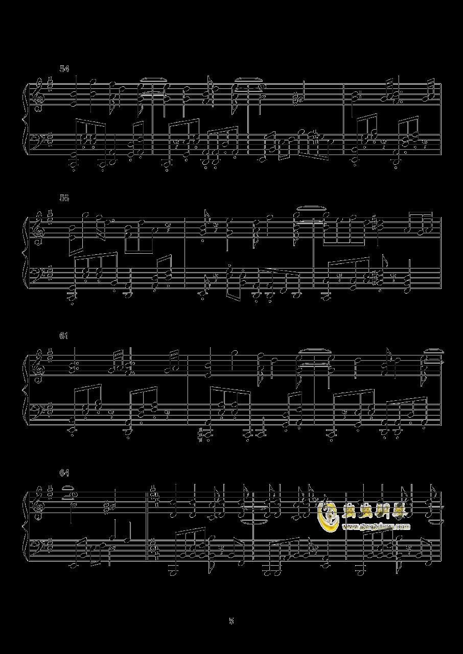 Dr. Latency的令人不眠之瞳钢琴谱 第5页