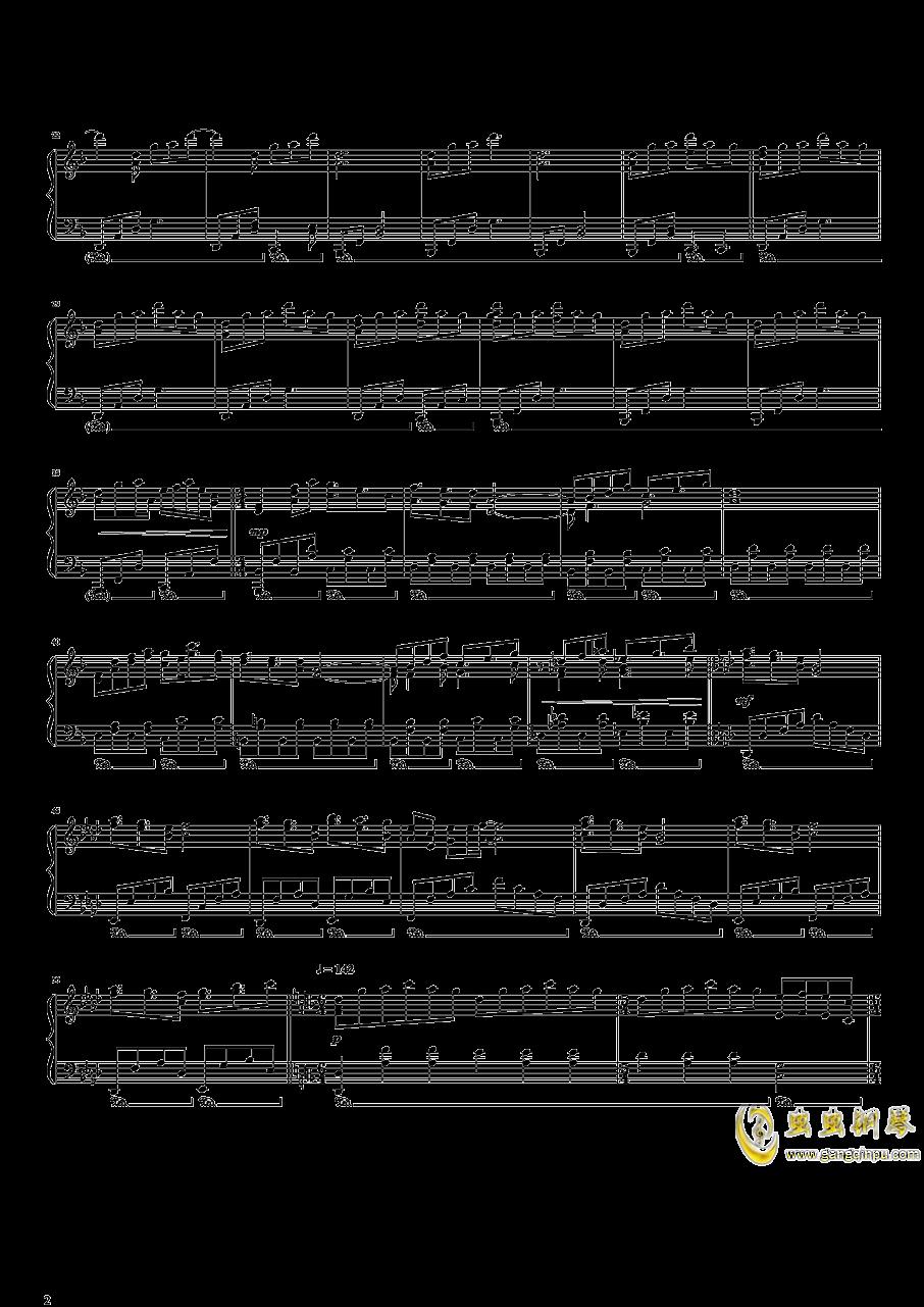 东方开场曲串烧钢琴谱 第2页
