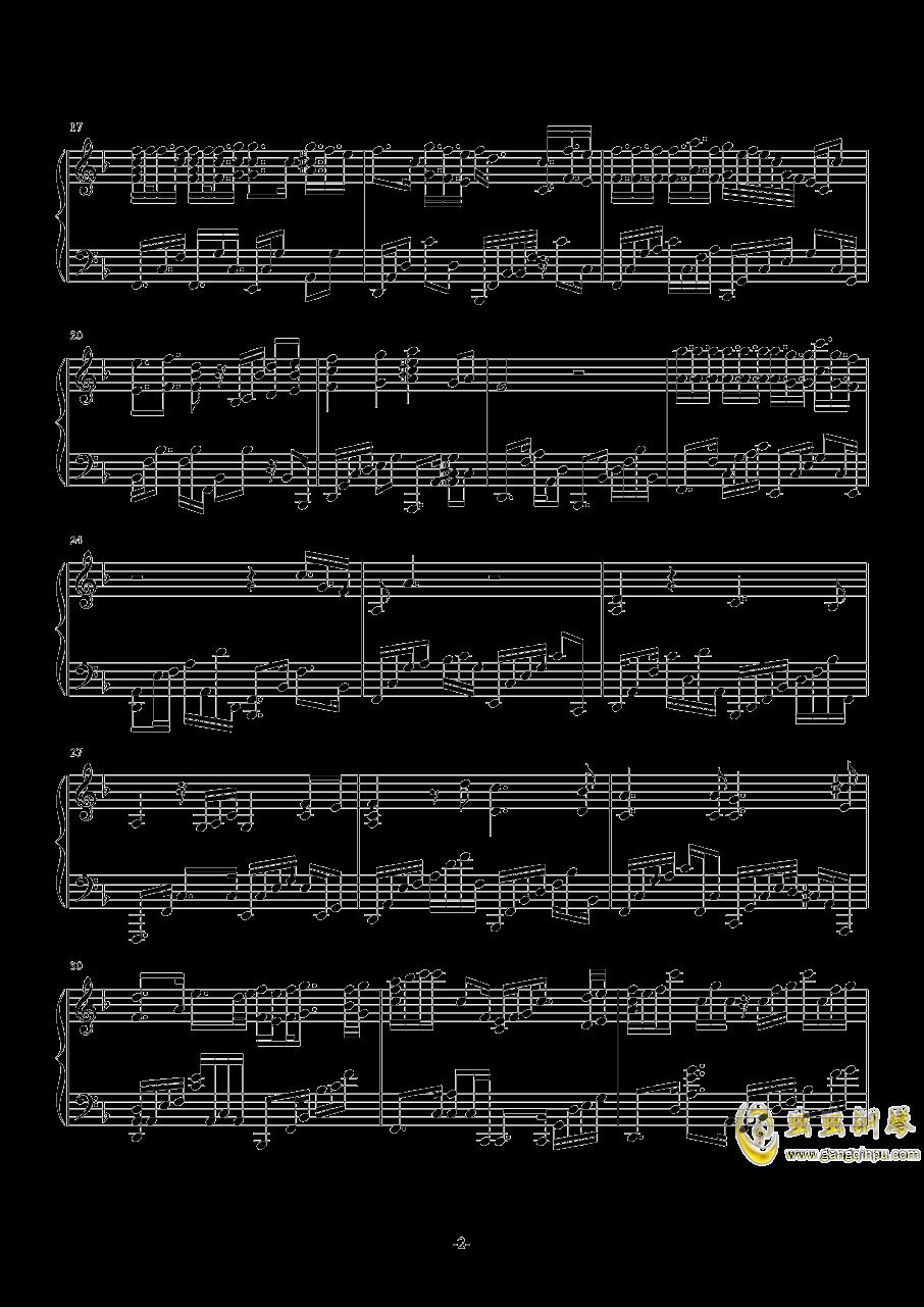 Promise钢琴谱 第2页