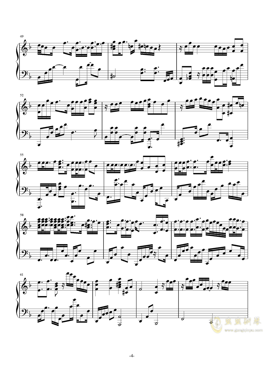 Promise钢琴谱 第4页