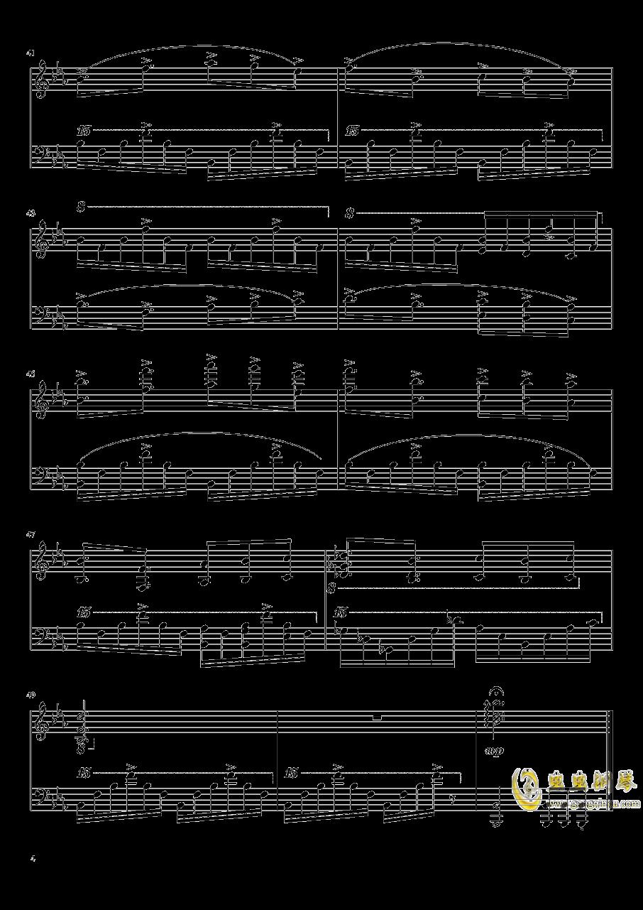 上海爱丽丝幻乐团还原钢琴谱 第4页
