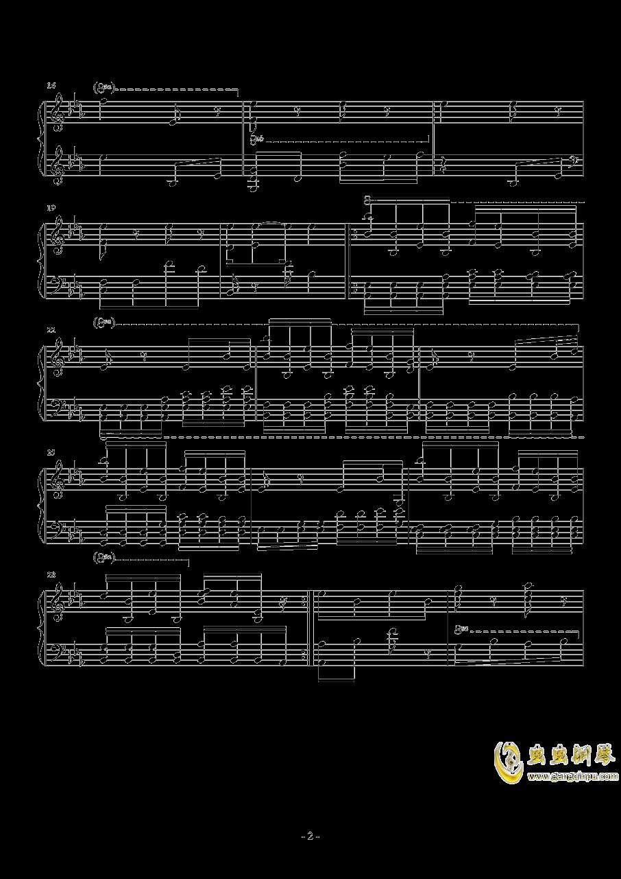 Trailer Theme钢琴谱 第2页