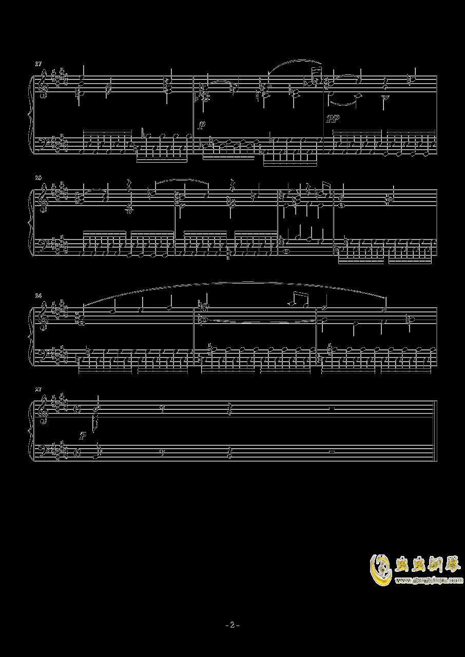 E大调第七交响曲钢琴谱 第2页
