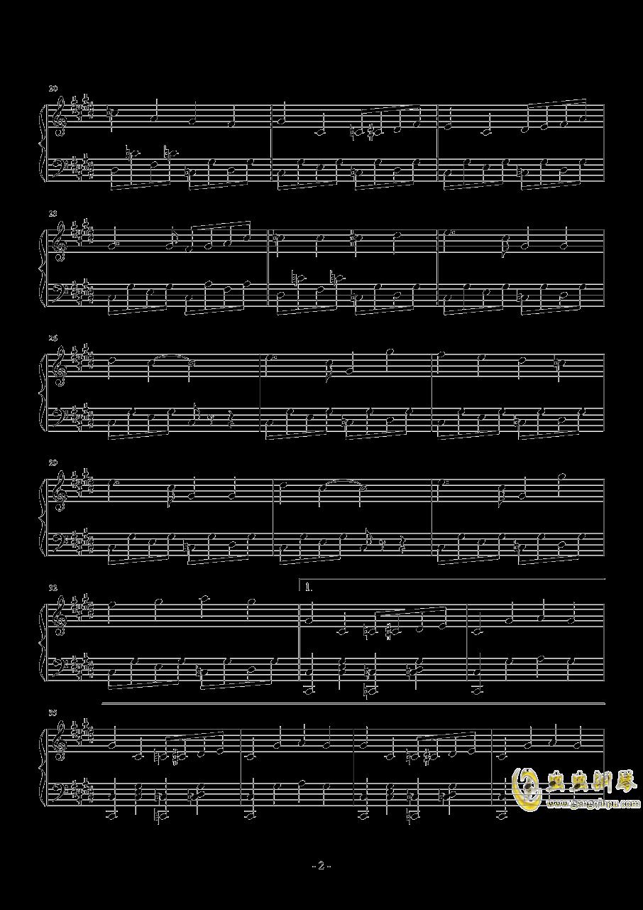 hide and seek钢琴谱 第2页