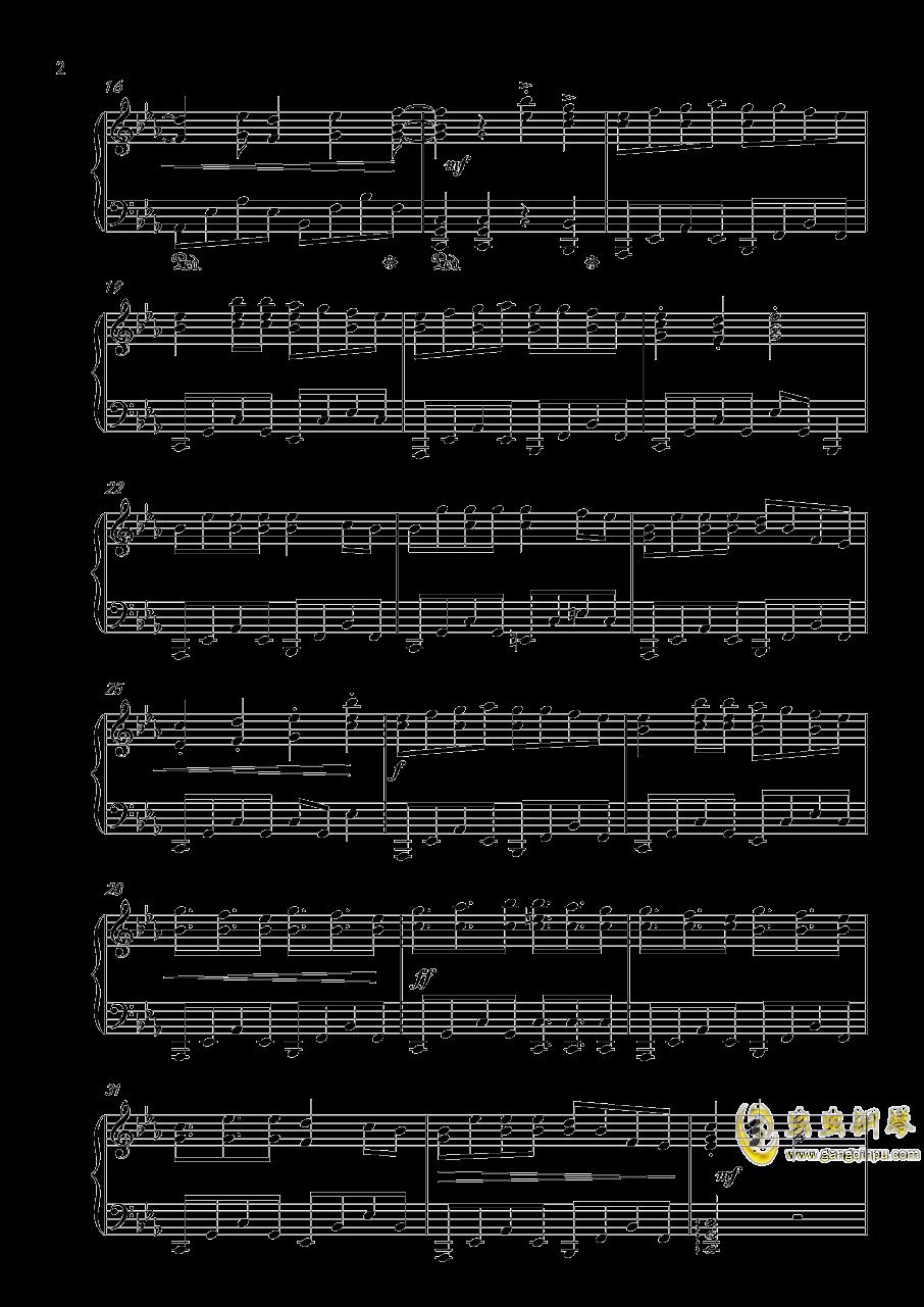 【乱步奇谭】钢琴谱 第2页