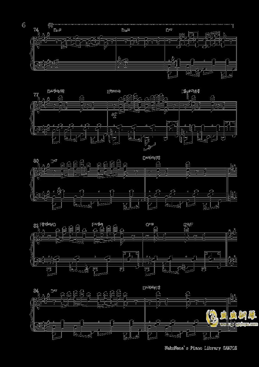 不幸屋の娘钢琴谱 第6页