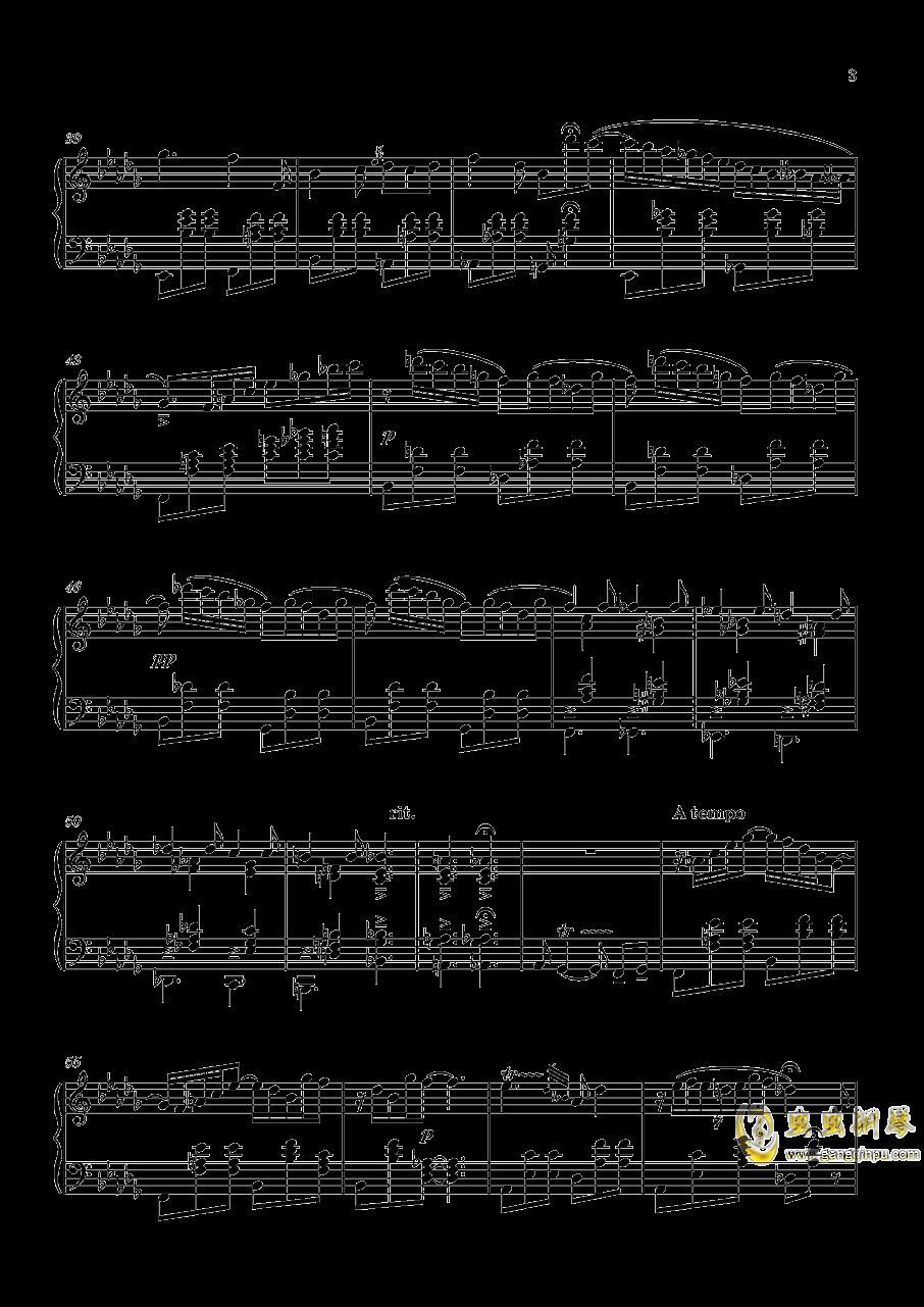 L1 圆舞曲钢琴谱 第3页