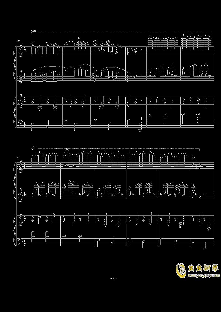 玛奇朵波尔卡钢琴谱 第2页