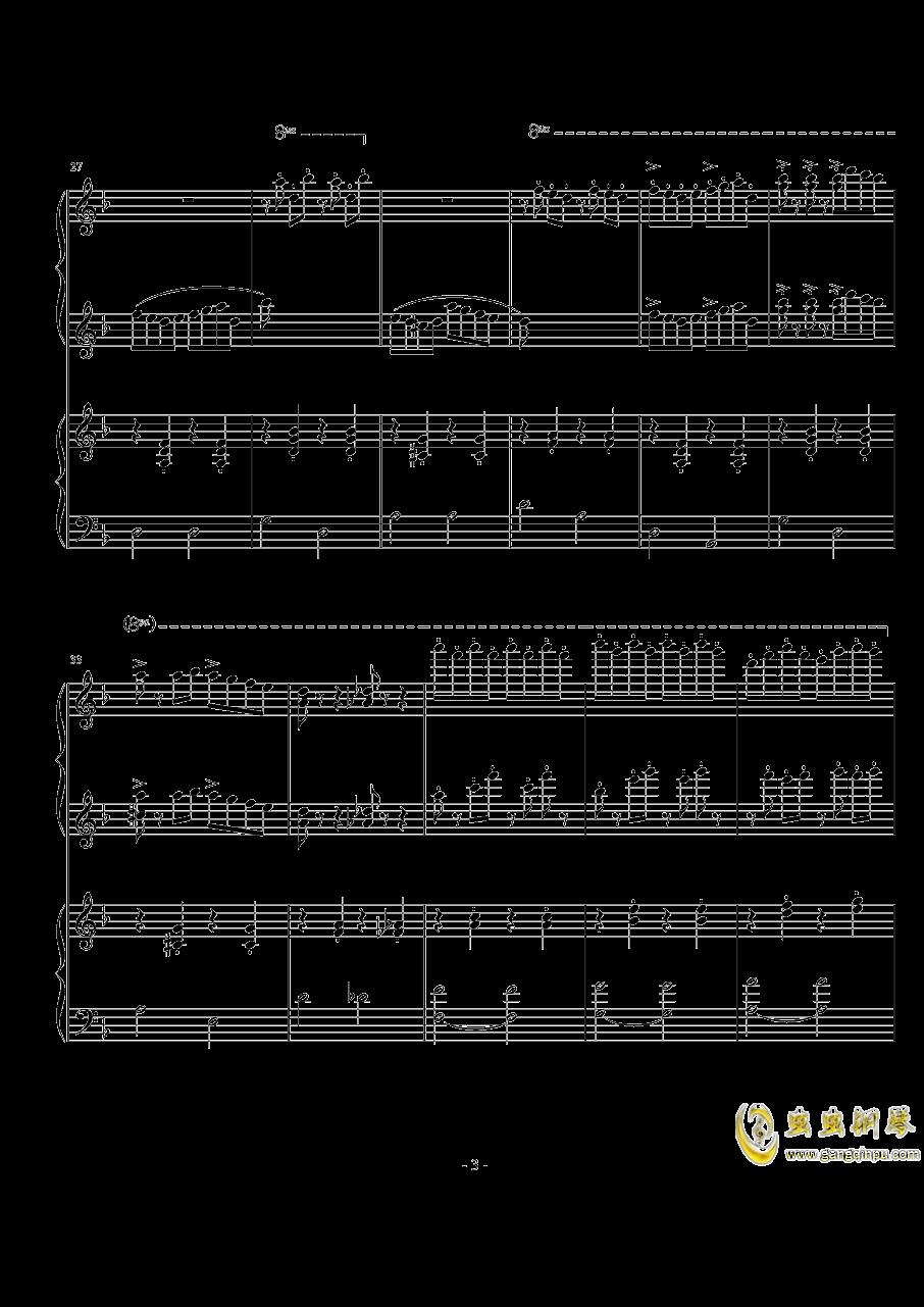 玛奇朵波尔卡钢琴谱 第3页
