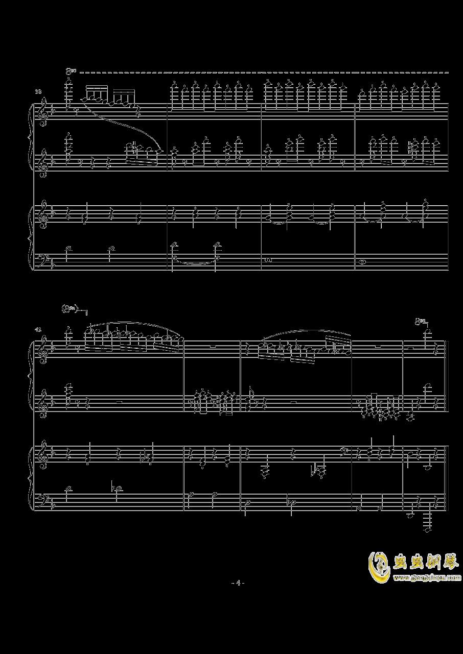 玛奇朵波尔卡钢琴谱 第4页