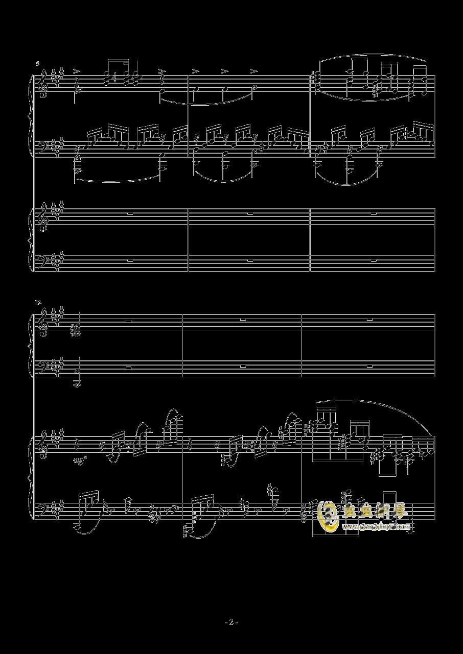 Piano Concerto No.6 in sharp F Minor Op.57 I.钱柜娱乐 第2页