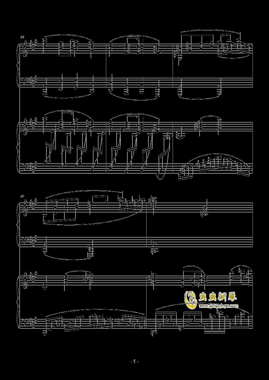 Piano Concerto No.6 in sharp F Minor Op.57 I.钱柜娱乐 第5页