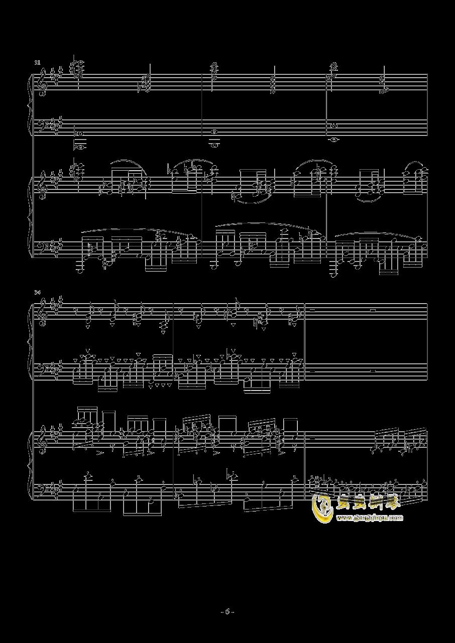 Piano Concerto No.6 in sharp F Minor Op.57 I.钱柜娱乐 第6页