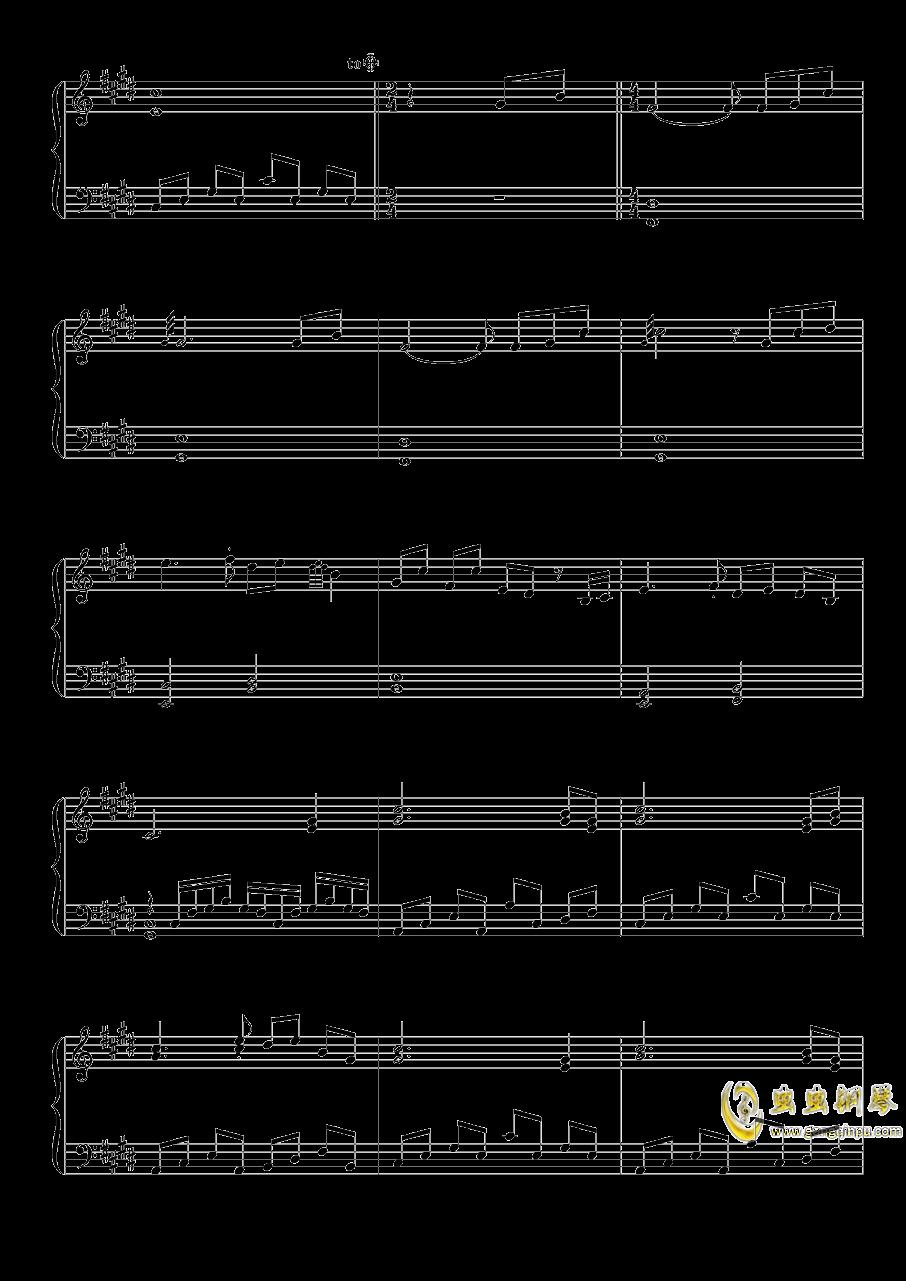 雪月樱花之国钢琴谱 第2页