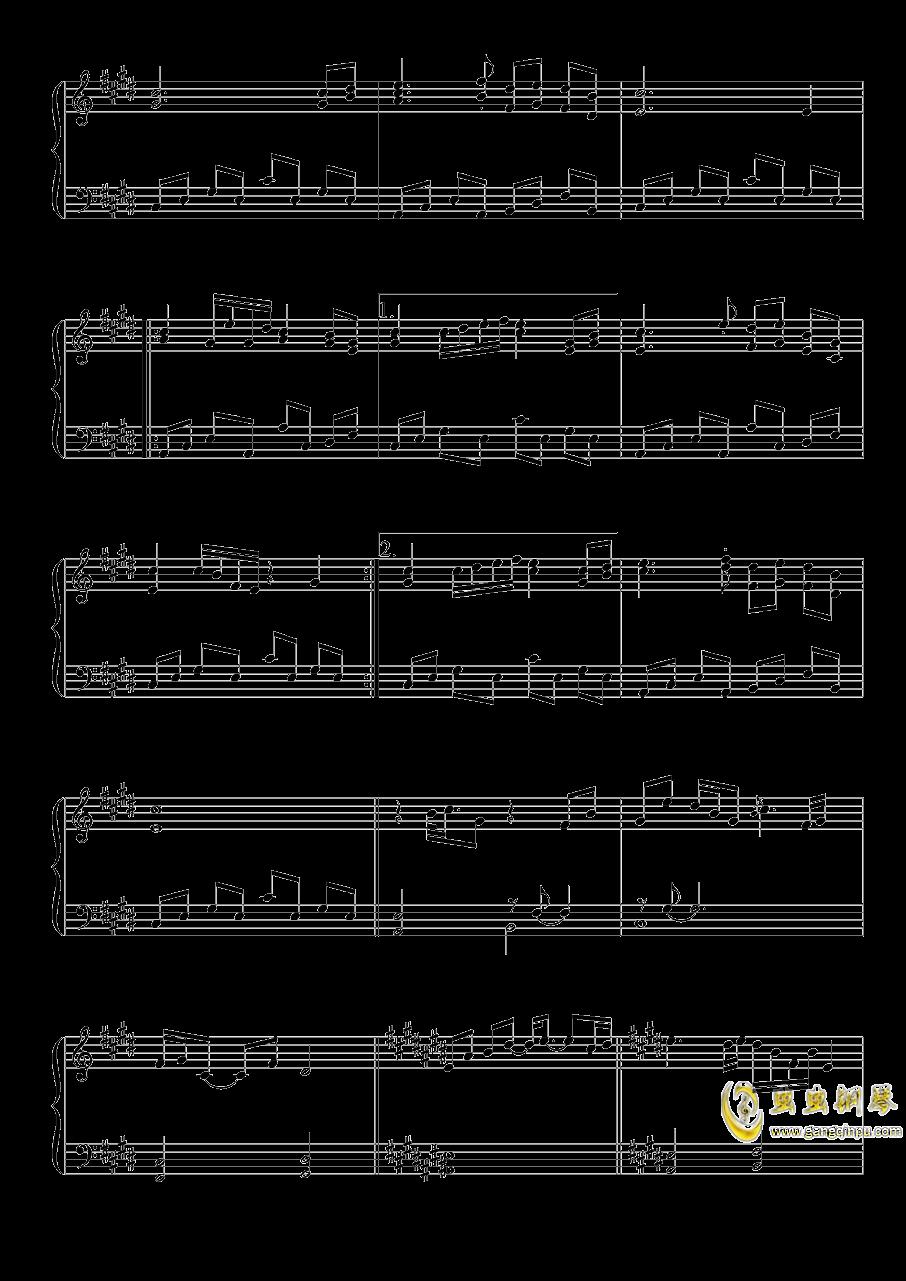 雪月樱花之国钢琴谱 第3页