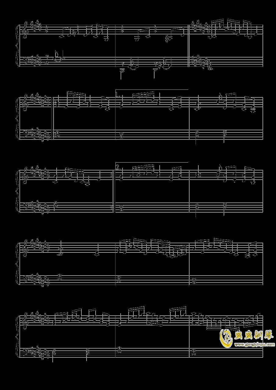 雪月樱花之国钢琴谱 第4页