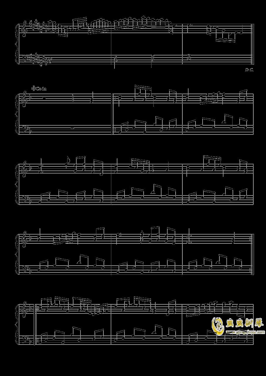 雪月樱花之国钢琴谱 第5页