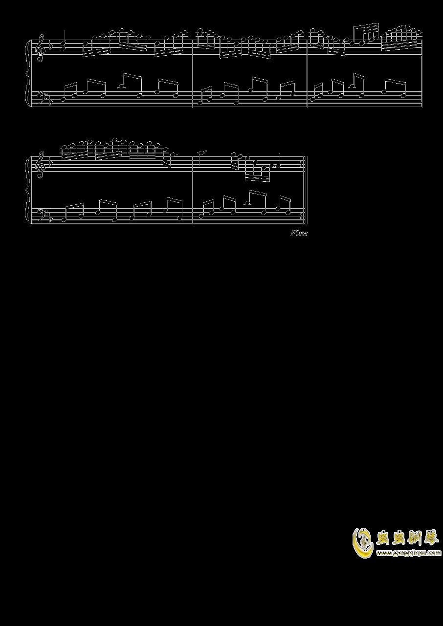 雪月樱花之国钢琴谱 第6页