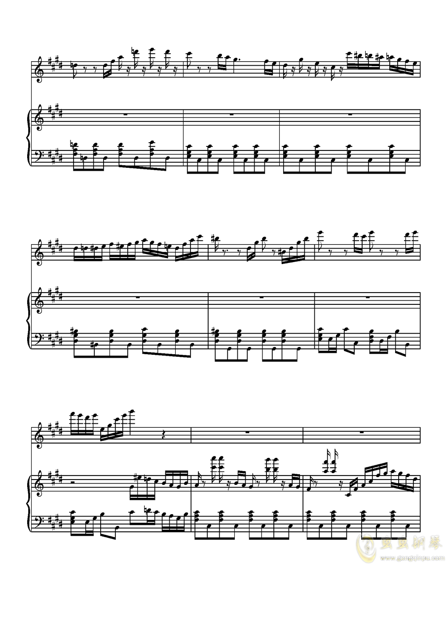 Parodia Sonatina钢琴谱 第11页