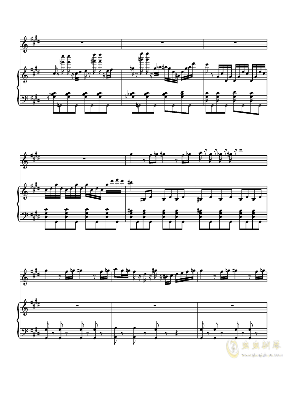 Parodia Sonatina钢琴谱 第12页