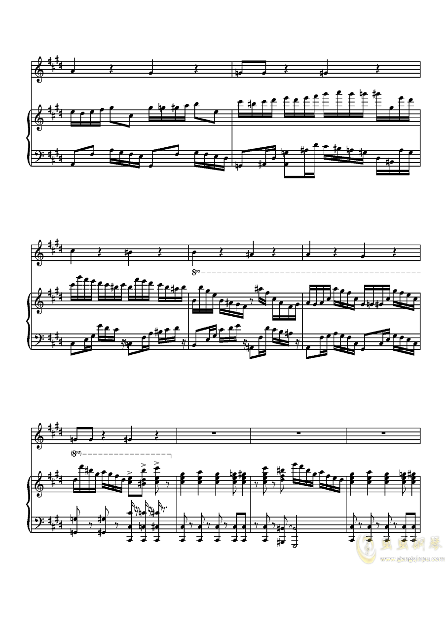 Parodia Sonatina钢琴谱 第19页