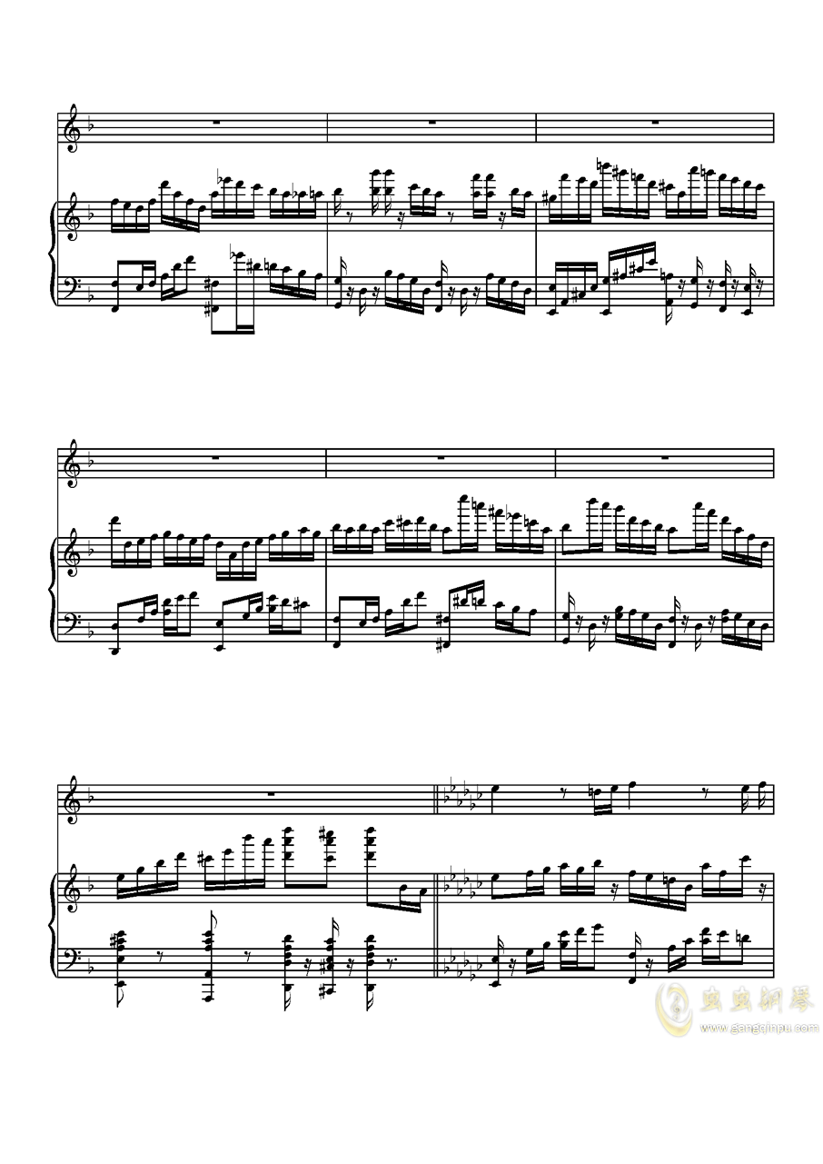 Parodia Sonatina钢琴谱 第26页