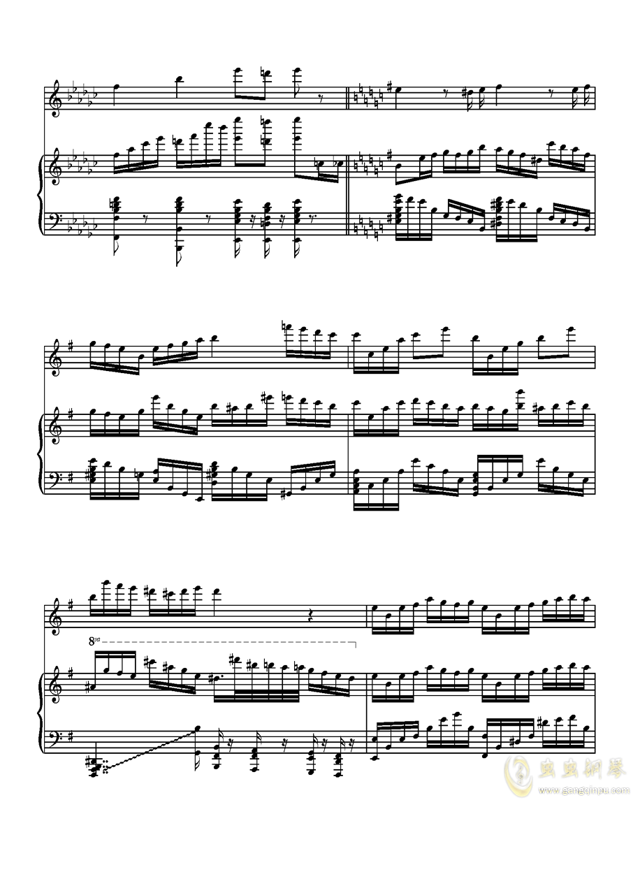 Parodia Sonatina钢琴谱 第28页