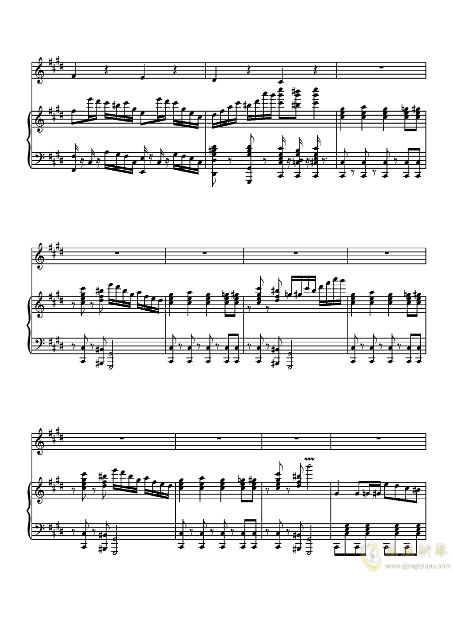 Parodia Sonatina钢琴谱 第5页