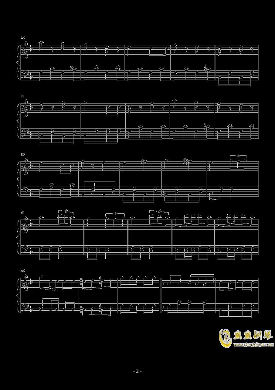 WAB120  No.1钢琴谱 第2页