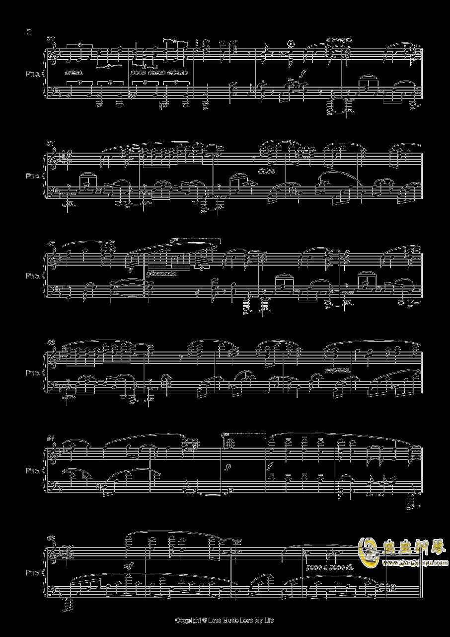 OP CLEAR钢琴谱 第2页