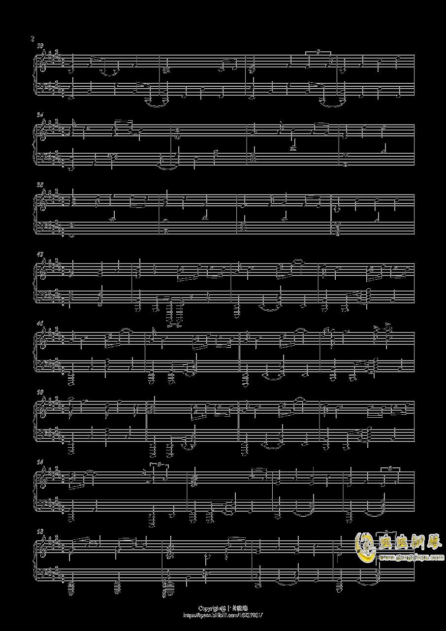 lemon原版钢琴谱简谱
