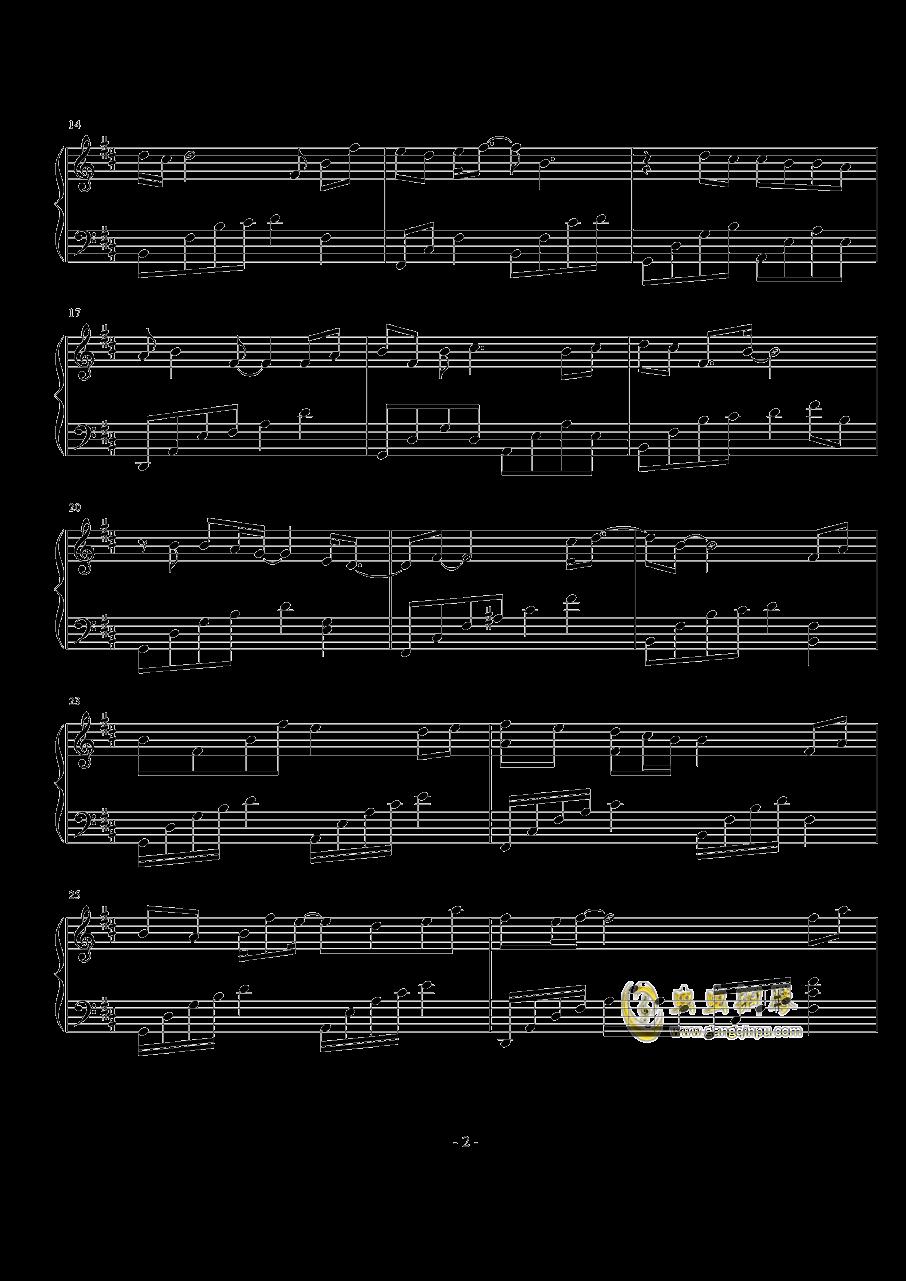 千秋钢琴谱 第2页