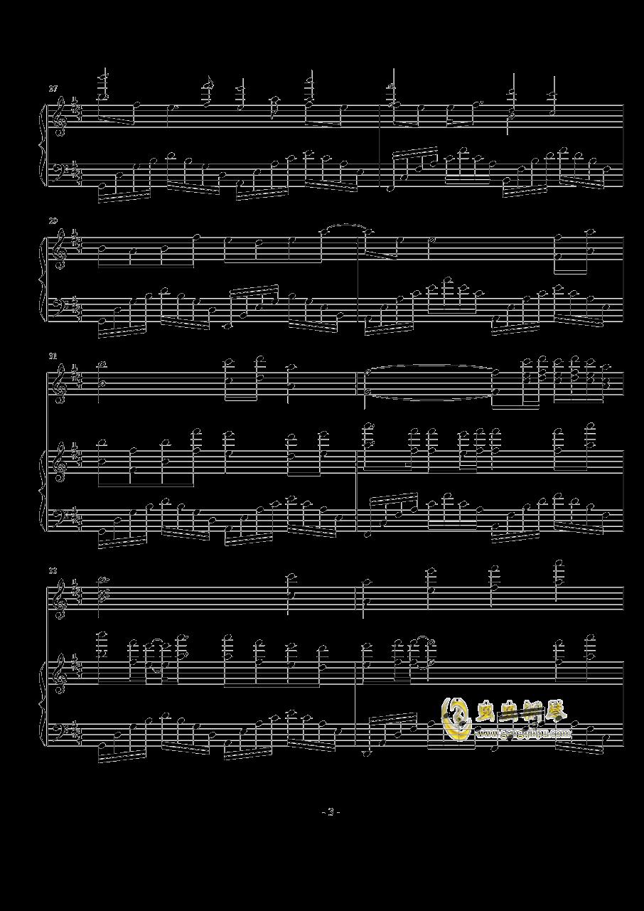千秋钢琴谱 第3页