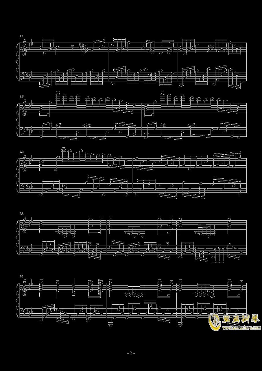 g小�{�S想曲钢琴谱 第2页