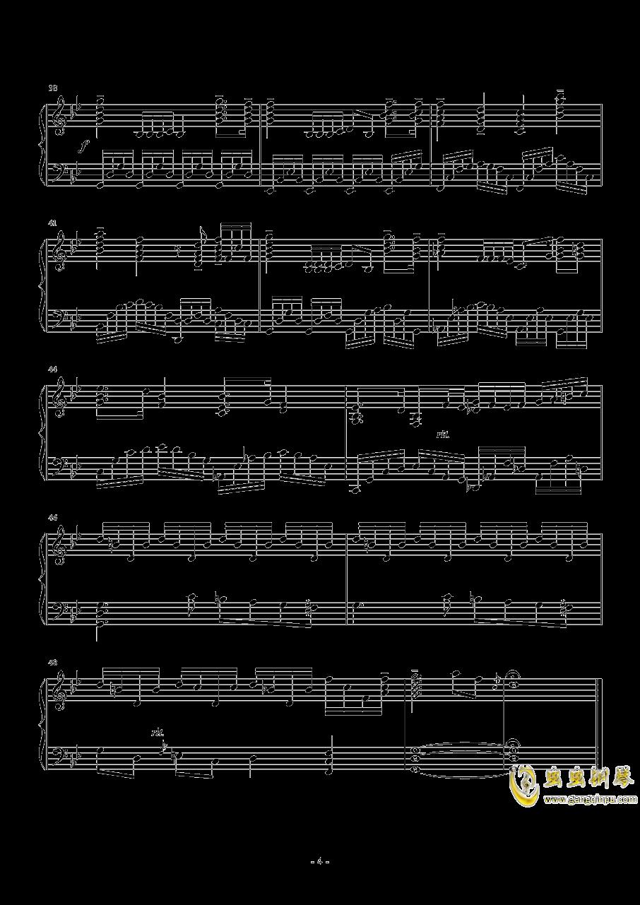 g小�{�S想曲钢琴谱 第4页