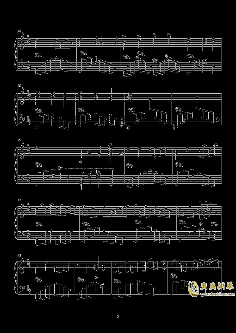 风屿钢琴谱 第2页