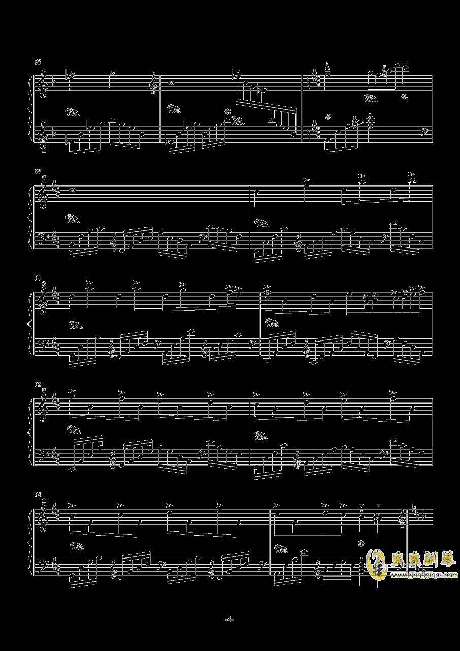 风屿钢琴谱 第4页