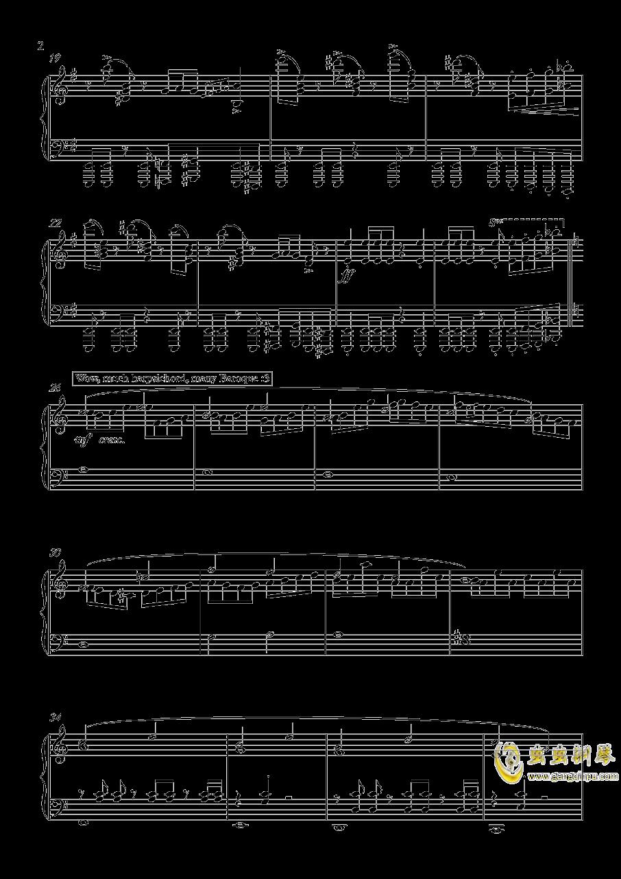 怪物猎人世界钢琴谱 第2页