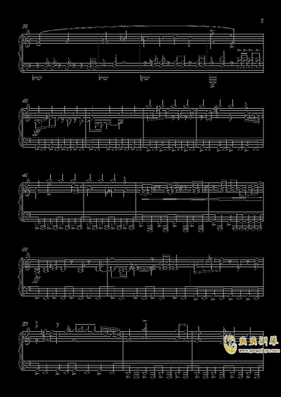怪物猎人世界钢琴谱 第3页