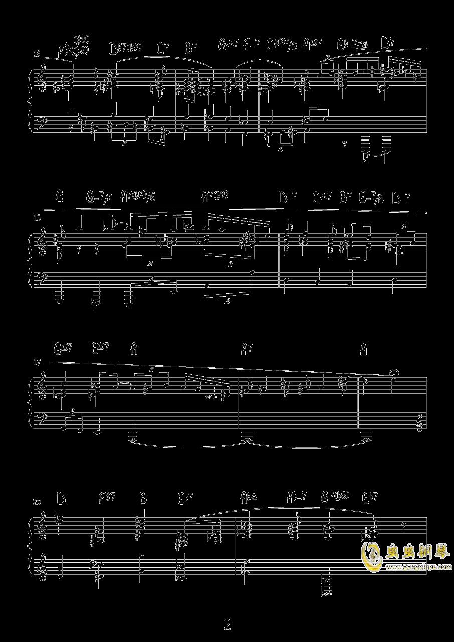 Reminiscence钢琴谱 第2页