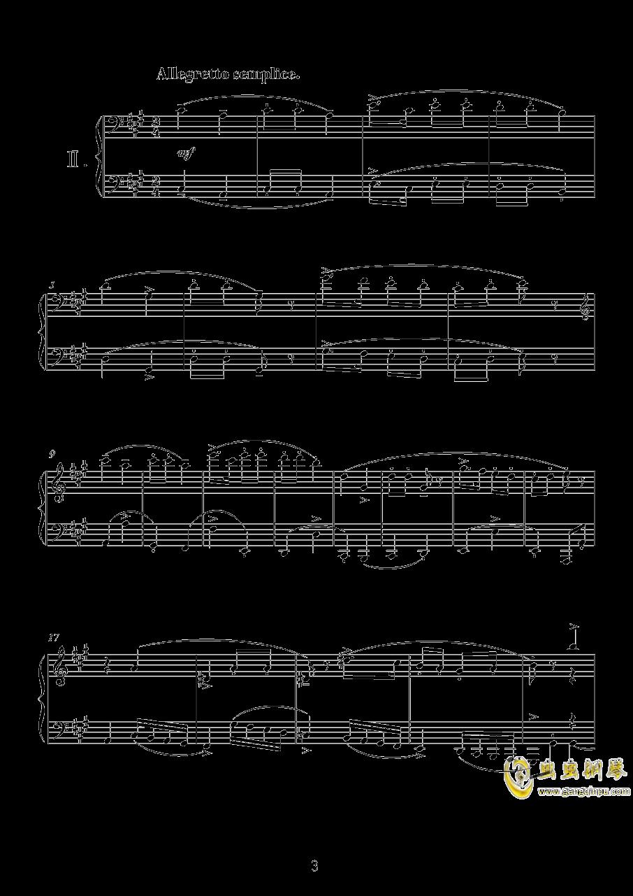 献给孩子们(II)钢琴谱 第1页