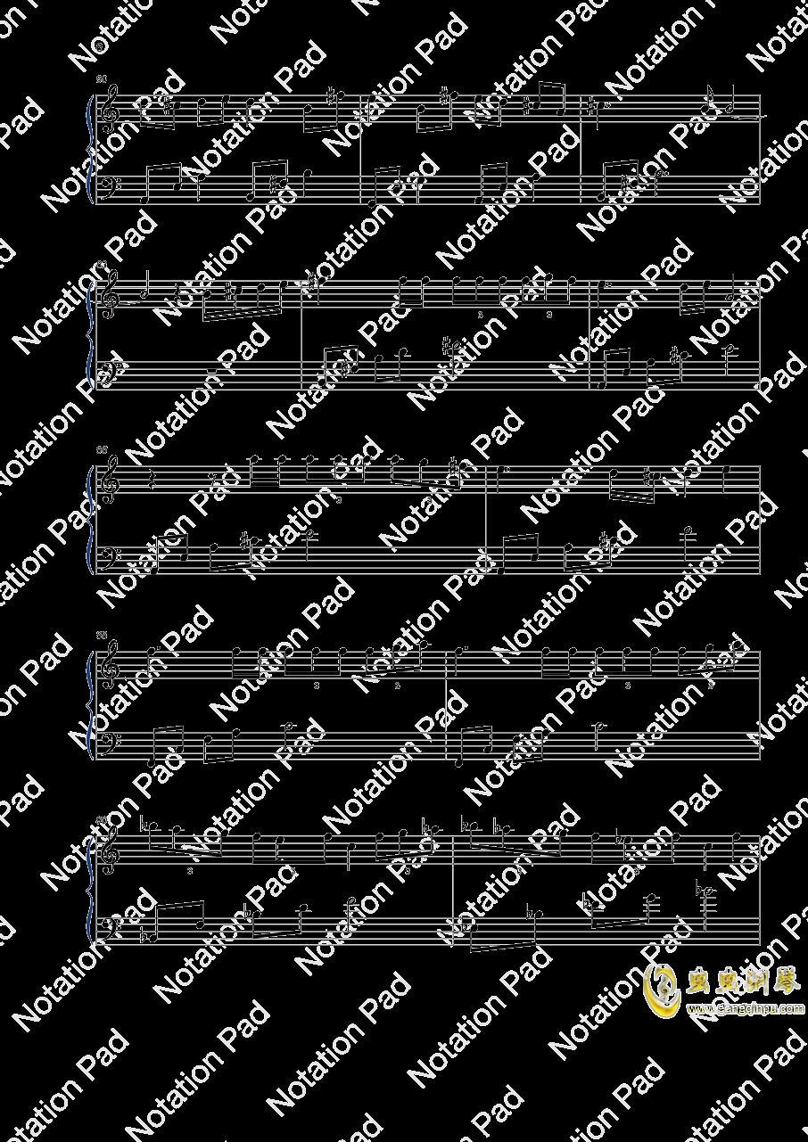 迷鸟钢琴谱 第6页